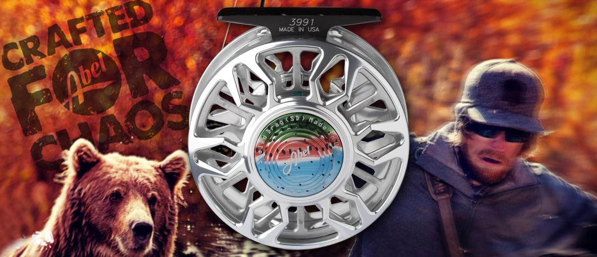 Abel Rolle SD mit gekapseltem Bremssystem (Sealed Drag) erhältlich bei Flyfishing Europe in Sonderfarben