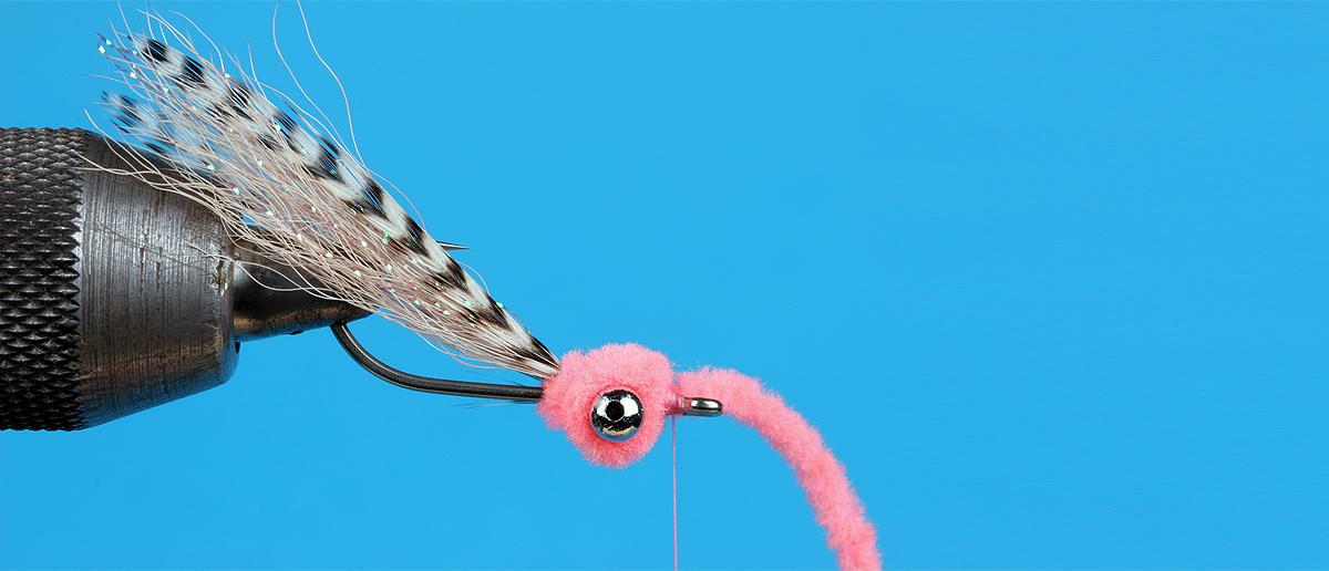Synthetikstraenge Chenille und Antron zum Fliegenbinden