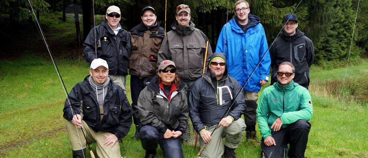 Fliegenfischen lernen in Fliegenfischerkursen bei Flyfishing Europe