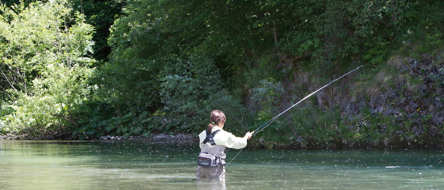 Trockenfliegen Europe Serie bei Flyfishing Europe