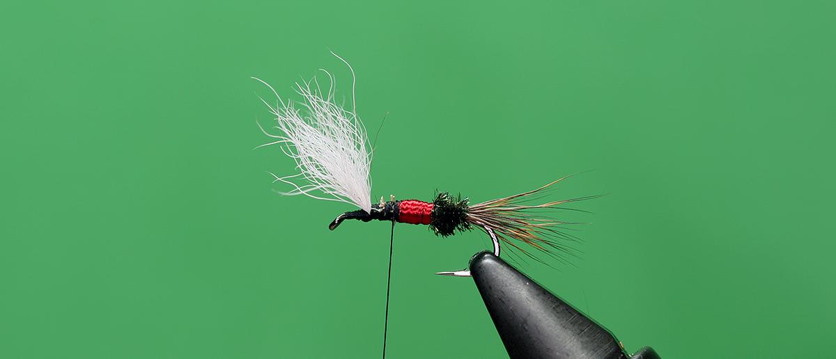 Fliegenbindegarn Trockenfliegen