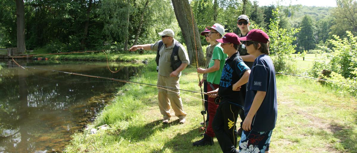 Fliegenfischen lernen Anfängerkurs Einsteigerkurs bei Flyfishing Europe