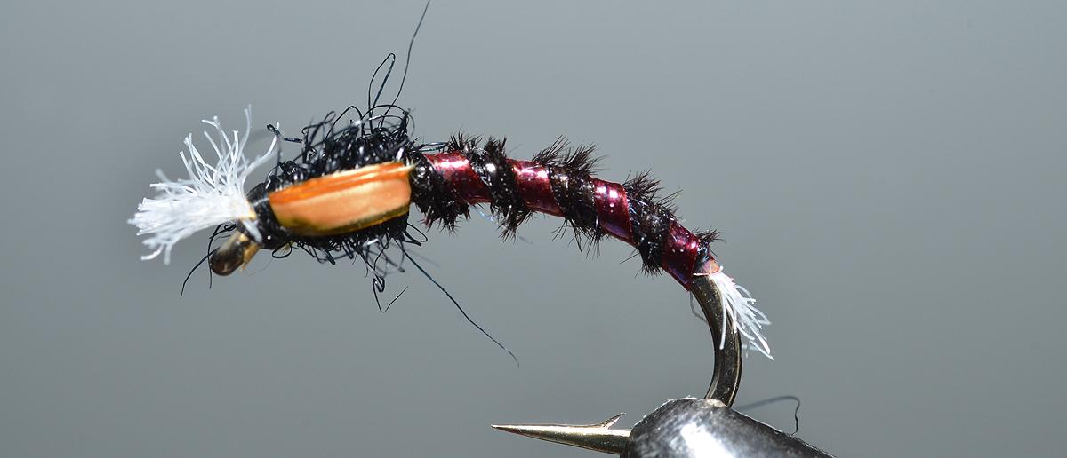 Hayabusa Nymphenhaken Fliegen