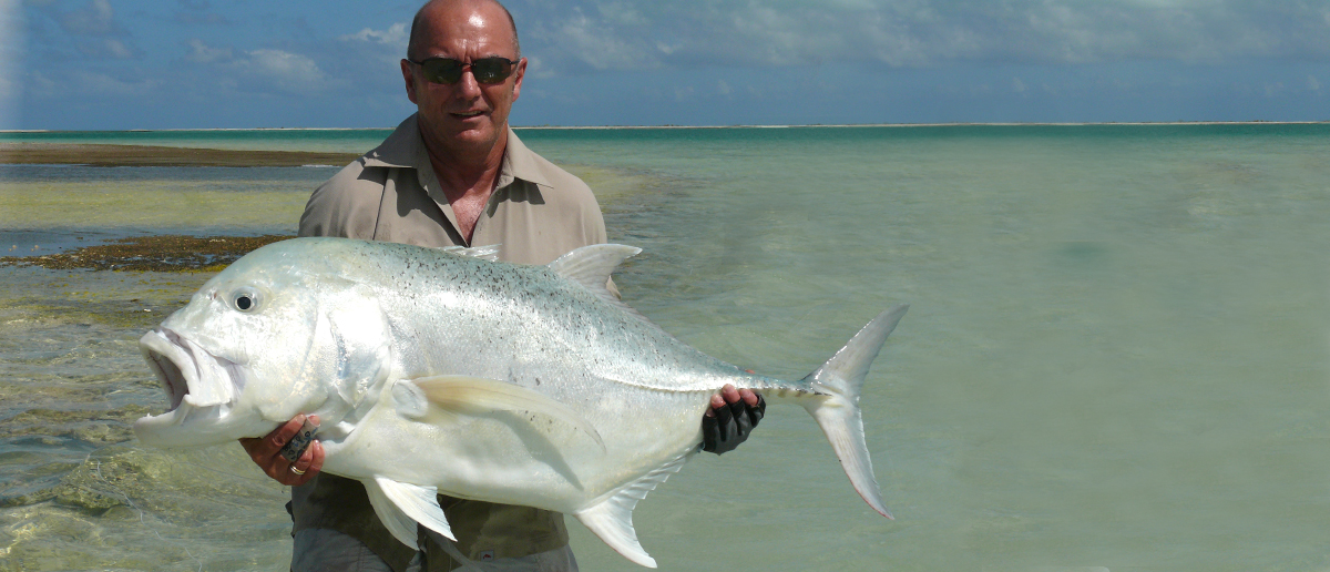 Kampfstarke Fische im Salzwasser - hierfür sind TFO Fliegenruten gemacht!
