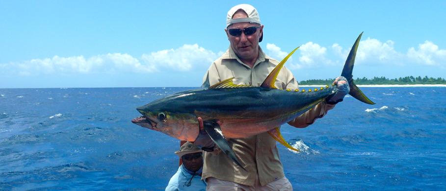 Bei einem solchen Thunfisch an der Fliegenrute sehen Sie Ihr Backing wieder - jedes Mal.