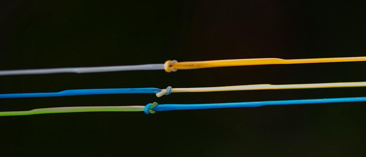 Kleine Schlaufen Salmologic Schusskoepfe Runninglines Logic Leaders