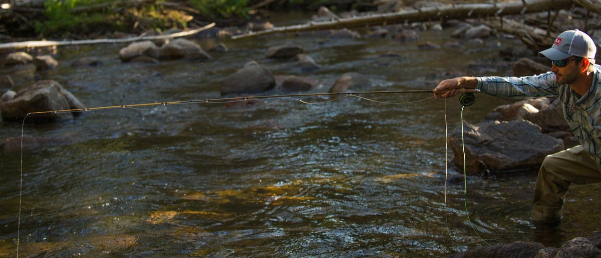 Scientific Anglers Wavelength Trout Fliegenschnur vorsichtige Praesentation