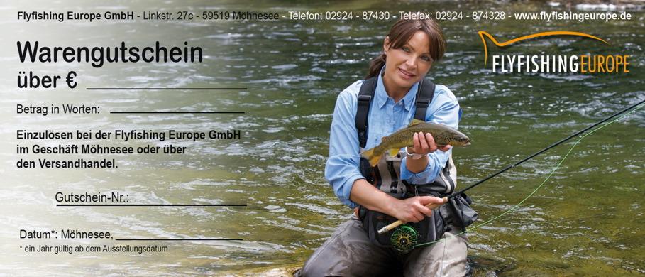 Geschenk-Gutscheine bei Flyfishing Europe