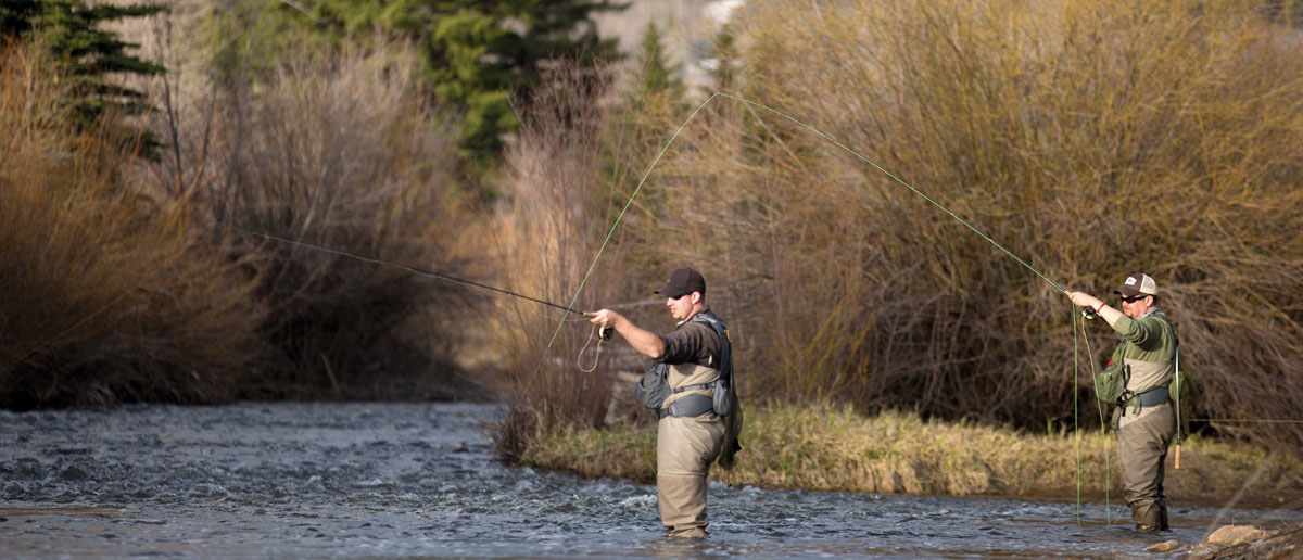 Watkescher bedeuten für den Fliegenfischer beim Fliegenfischen einen schonenden und sicheren Umgang mit dem Fisch