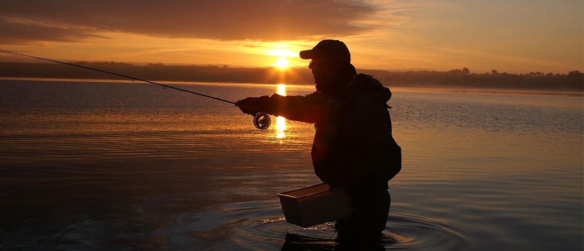 Beim Fliegenfischen auf Meerforelle unerlässlich - ein praxiserprobter Schnurkorb von Flyfishing Europe.