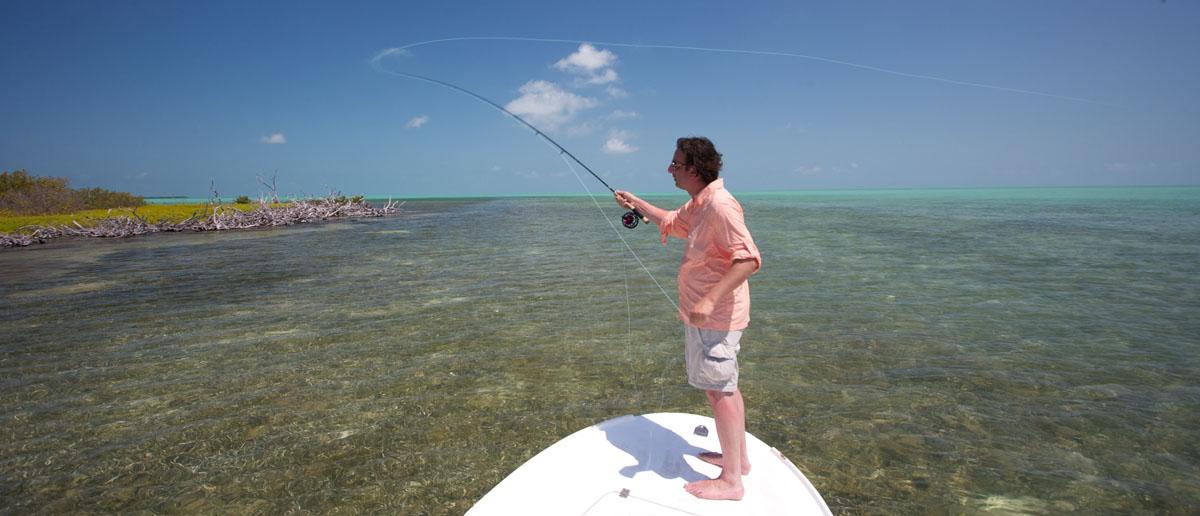 Auch spezielle Schnüre für warmes Salzwasser finden Sie bei Flyfishing Europe.