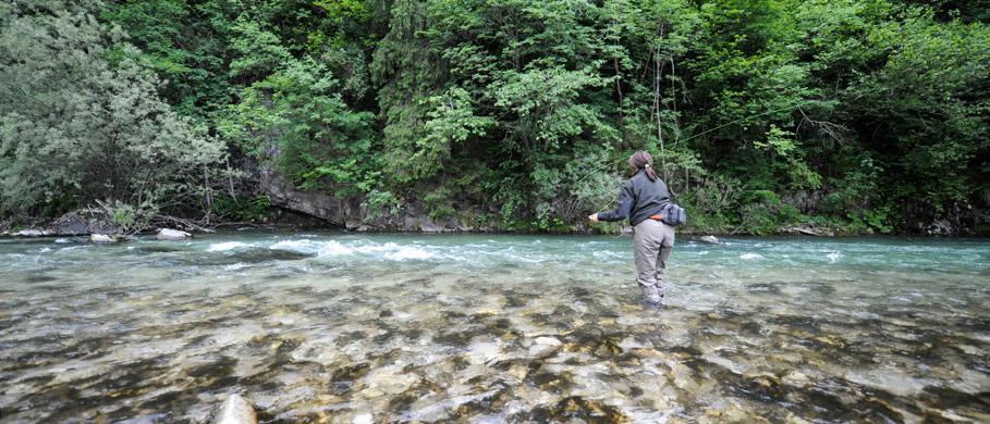 Watbekleidung, Fliegenfischerwesten, -hemden & Zubehör