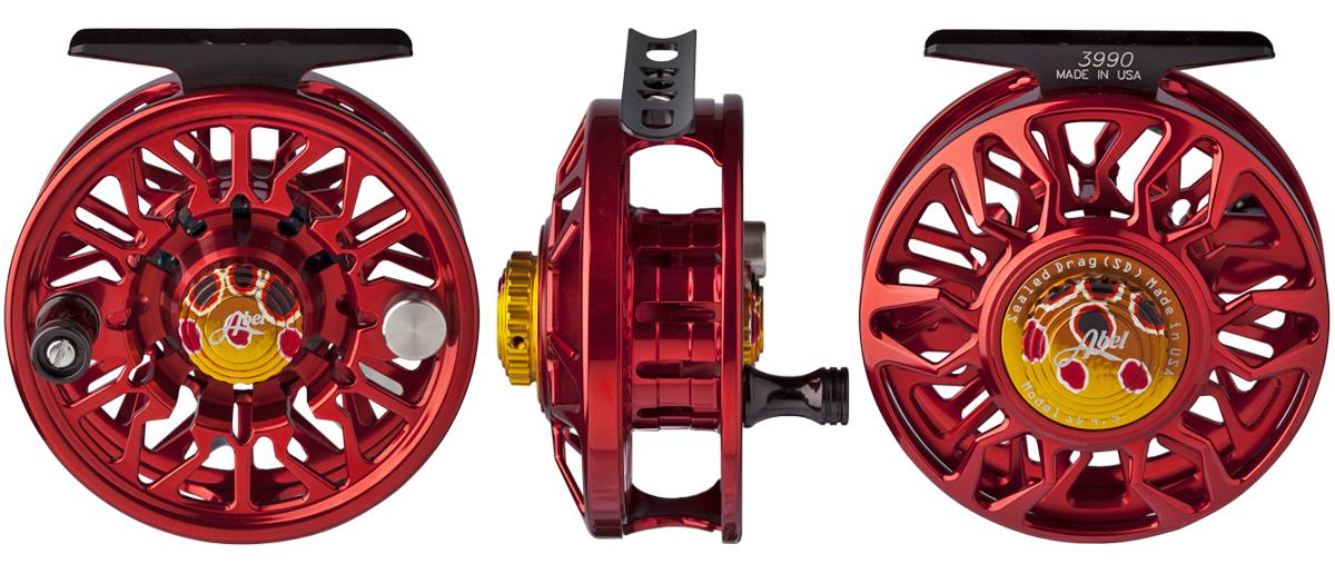Abel Fliegenrolle SD Sealed Drag mit gekapseltem Bremssystem sind im Fliegenfischen Onlineshop erhältlich bei Flyfishing Europe.