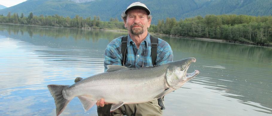 Pazifiklachs, Steelhead & King-Salmon Fliegen zum Fliegenfischen bei Flyfishing Europe