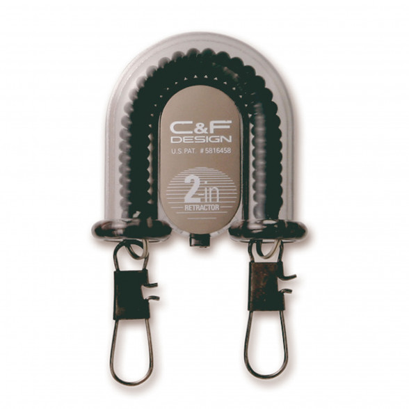 C&F Design 2-in-1 Retractor A-70 schwarz