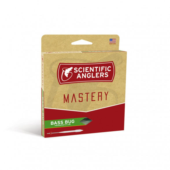 Mastery Bass Bug Taper Fliegenschnur Scientific Anglers