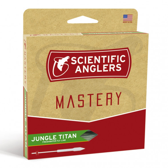 Mastery Titan Jungle Fliegenschnur Scientific Anglers