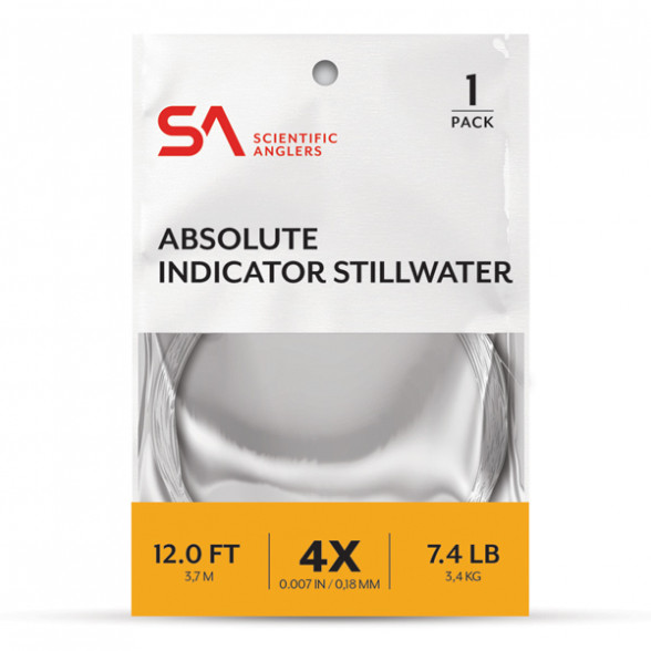 Absolute Indicator Stillwater Leader Bissanzeiger Vorfach Scientific Anglers
