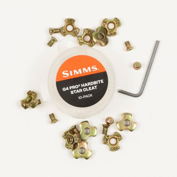 Simms G4 Pro HardBite Star Cleats Spikes