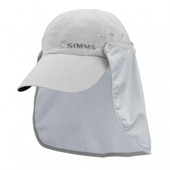 Simms Sunshield Hat Sonnenschutz-Kappe ash