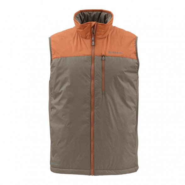 Simms Midstream Insulated Vest Weste saddle brown