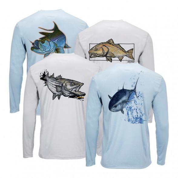 Simms Solar Tech Tee Ocean Collection Sonnenschutzshirt