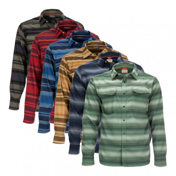 Simms Gallatin Flannel Shirt Flanell-Hemd