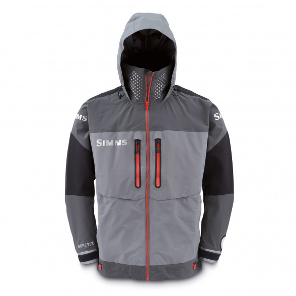 Simms ProDry Gore-Tex Jacke Steel Grey bei Flyfishing Europe