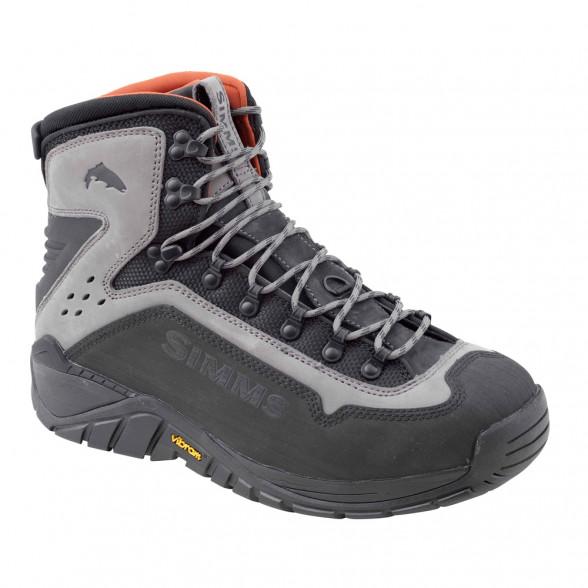 Simms G3 Guide Boot Watschuh steel grey Vibram