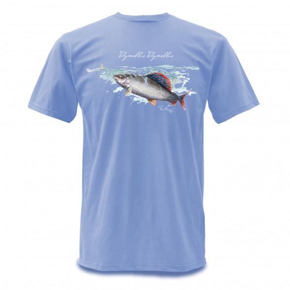 Simms T-Shirt Weiergang Äsche hellblau bei Flyfishing Europe