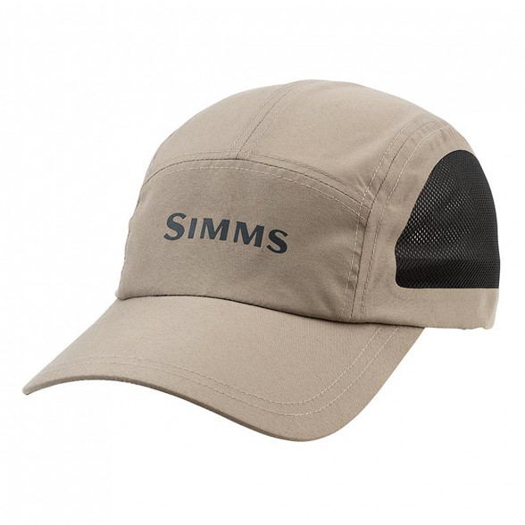 Simms Microfiber Kappe Short Bill Cap River Rock bei Flyfishing Europe