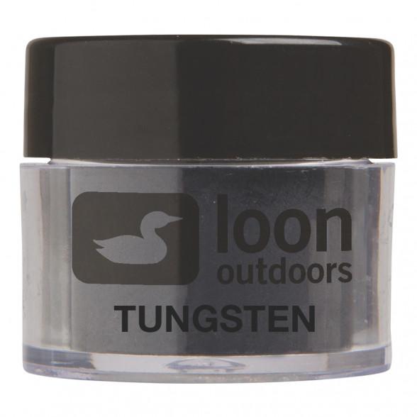 Loon Flytying Powder Fliegenbindepuder Tungsten zum Fliegenfischen bei Flyfishing Europe.