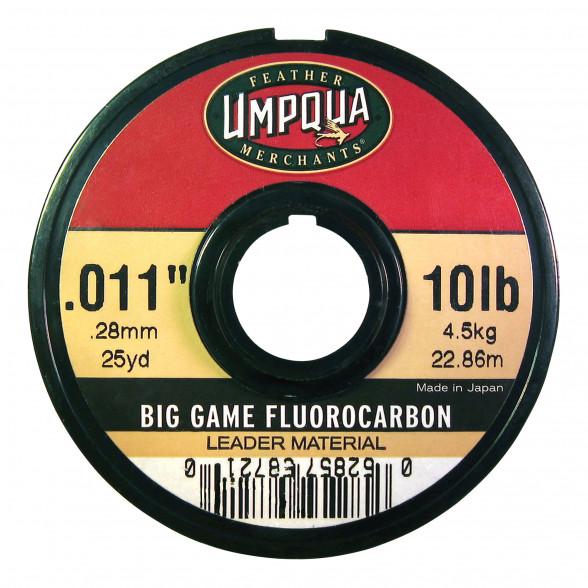 Umpqua Big Game Fluorocarbon Vorfachmaterial 25 yds zum Fliegenfischen bei Flyfishing Europe