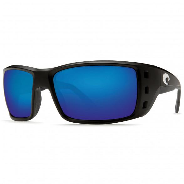 Costa Permit schwarz blue mirror Polbrille