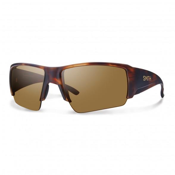 Smith Optics Captains Choice ChromaPop Polarisationsbrille matte Havana/polar brown