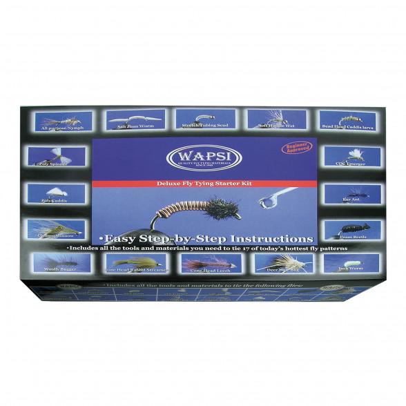 Wapsi Starter Kit Deluxe Fliegenbineset für Einsteiger bei Flyfishing Europe