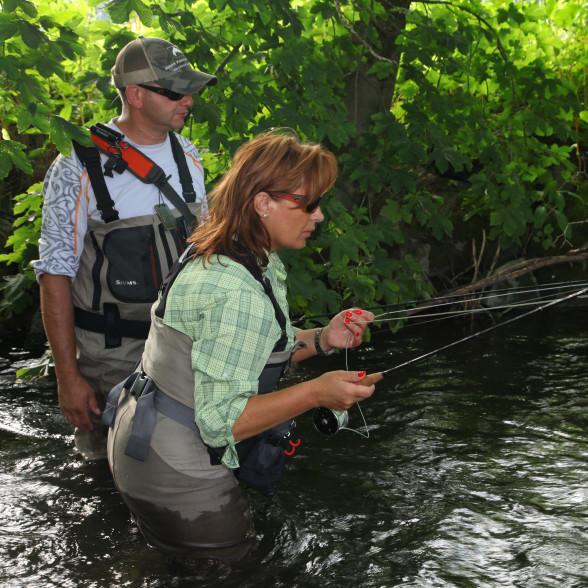Mirjana Pavlic Fliegenfischen mit der Nymphe lernen