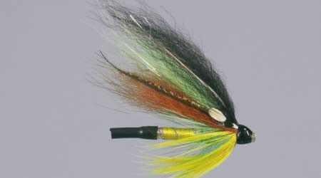 """Scholz´s Foxlander Size 1\"""", Tubenfliege zum Fliegenfischen auf Lachs bei FFE"""