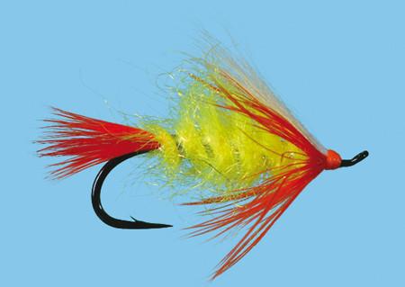 Stillagwamish Sunrise Size 4 Fliege zum Fliegenfischen auf Pazifiklachs und Steelhead bei Flyfishing Europe