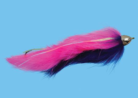 Dali Lama Pink/Purple Size 2, Fliege zum Fliegenfischen auf Pazifiklachs & Steelhead bei FFE