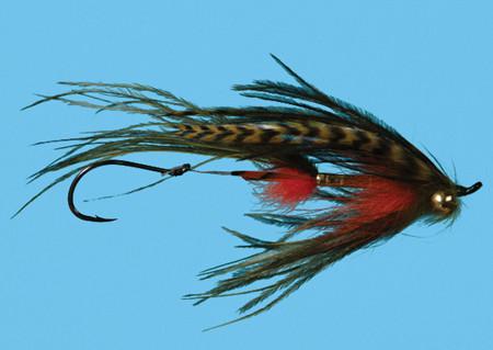 Signature Intruder, Crawded Size 2, Fliege zum Fliegenfischen auf Pazifiklachs & Steelhead bei FFE