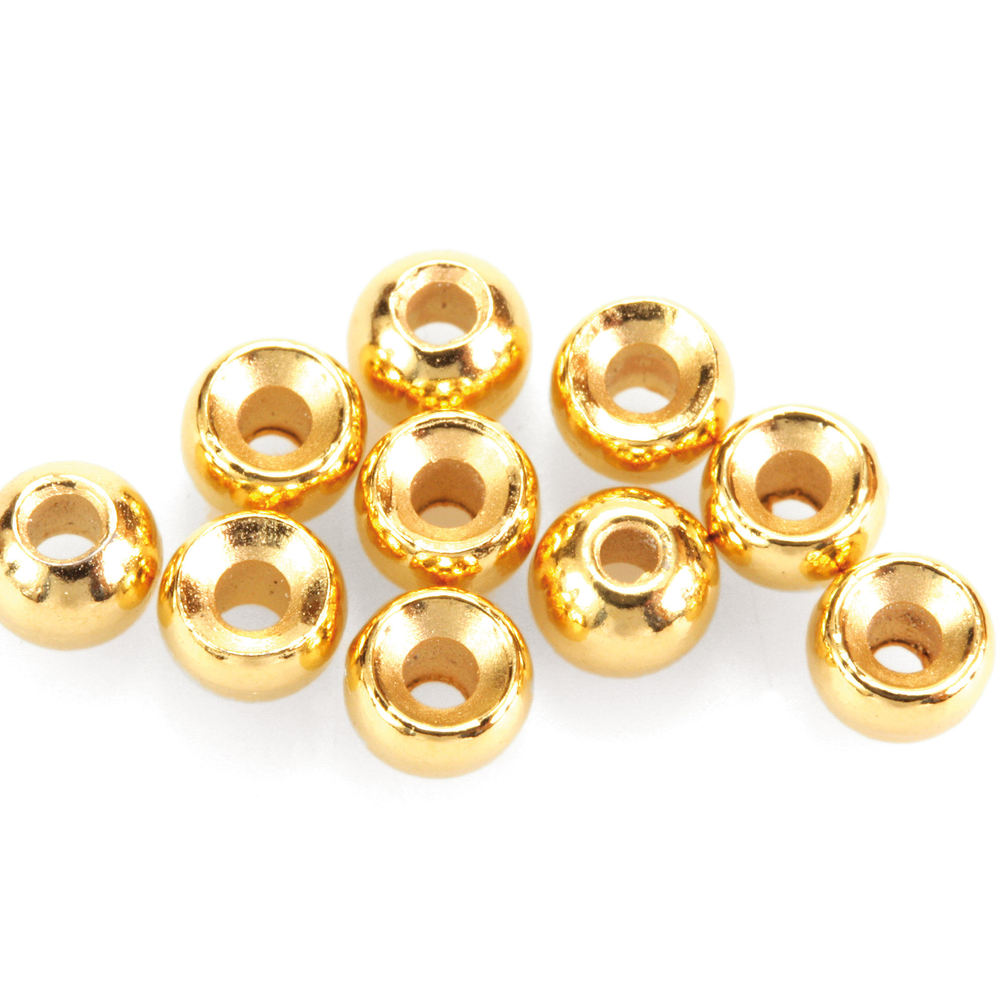 gelb Fliegenbinden Standard Perlen Tungsten Standard Beads