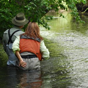 Mirjana Pavlic Guiding Fliegenfischen für Fliegenfischer