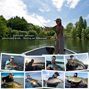 Flyfishing Europe Guiding mit Boot am Möhnesee