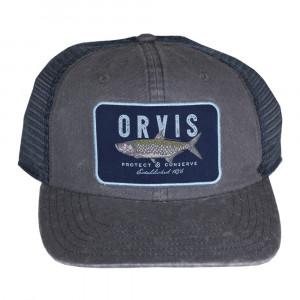 Orvis Saltwater Slam Trucker Cap Kappe graphite