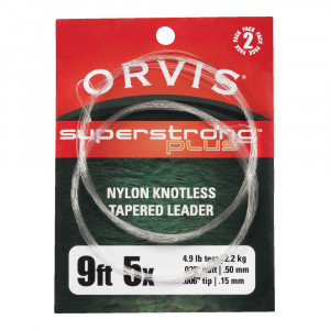 Orvis Superstrong Plus Leader 2er-Pack Fliegenvorfaecher