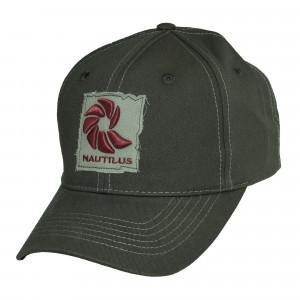 Nautilus Logo Cap Kappe grau