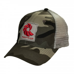 Nautilus Trucker Cap Kappe Grey Ghost