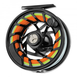 Orvis Mirage Fliegenrolle midnight black