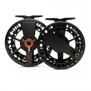 Waterworks-Lamson Speedster Fliegenrolle schwarz